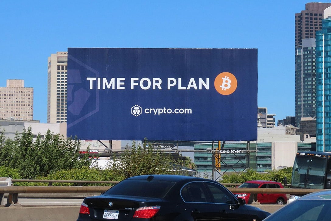 """Viral """"Time For Plan B"""" Marketing And Free $50 Sign-Up Is Enabling Crypto Adoption Via Crypto.com"""