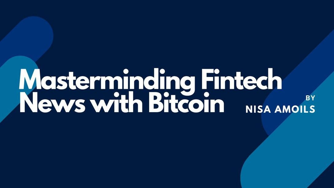 Masterminding Fintech News with Bitcoin