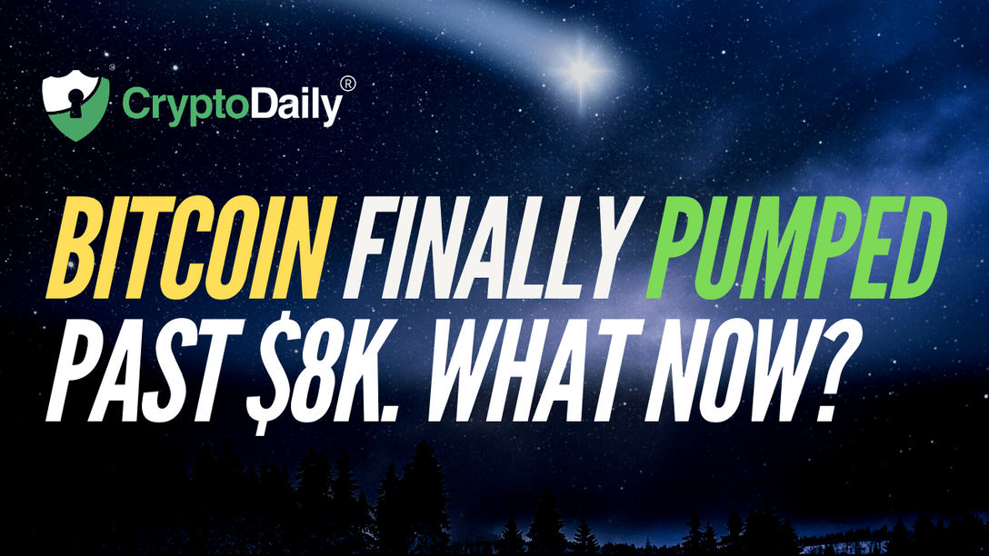 Bitcoin Pumped Past $8k. What Now?