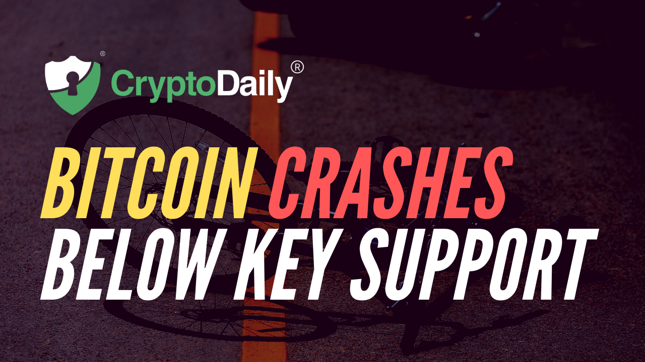 Bitcoin (BTC) Crashes Below Key Support